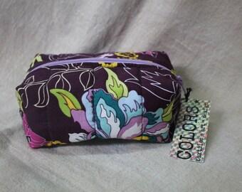 Zippered fabric box/bag