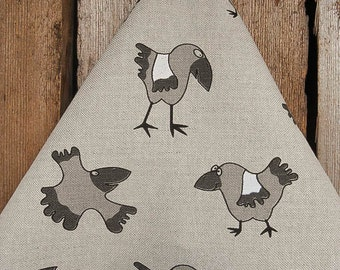 Halloween Towel Halloween Decor Crow Towel Raven Towel Bird Towel Linen Tea Towel Hand Towel Kitchen Towel Dish Towel Gift for Mom