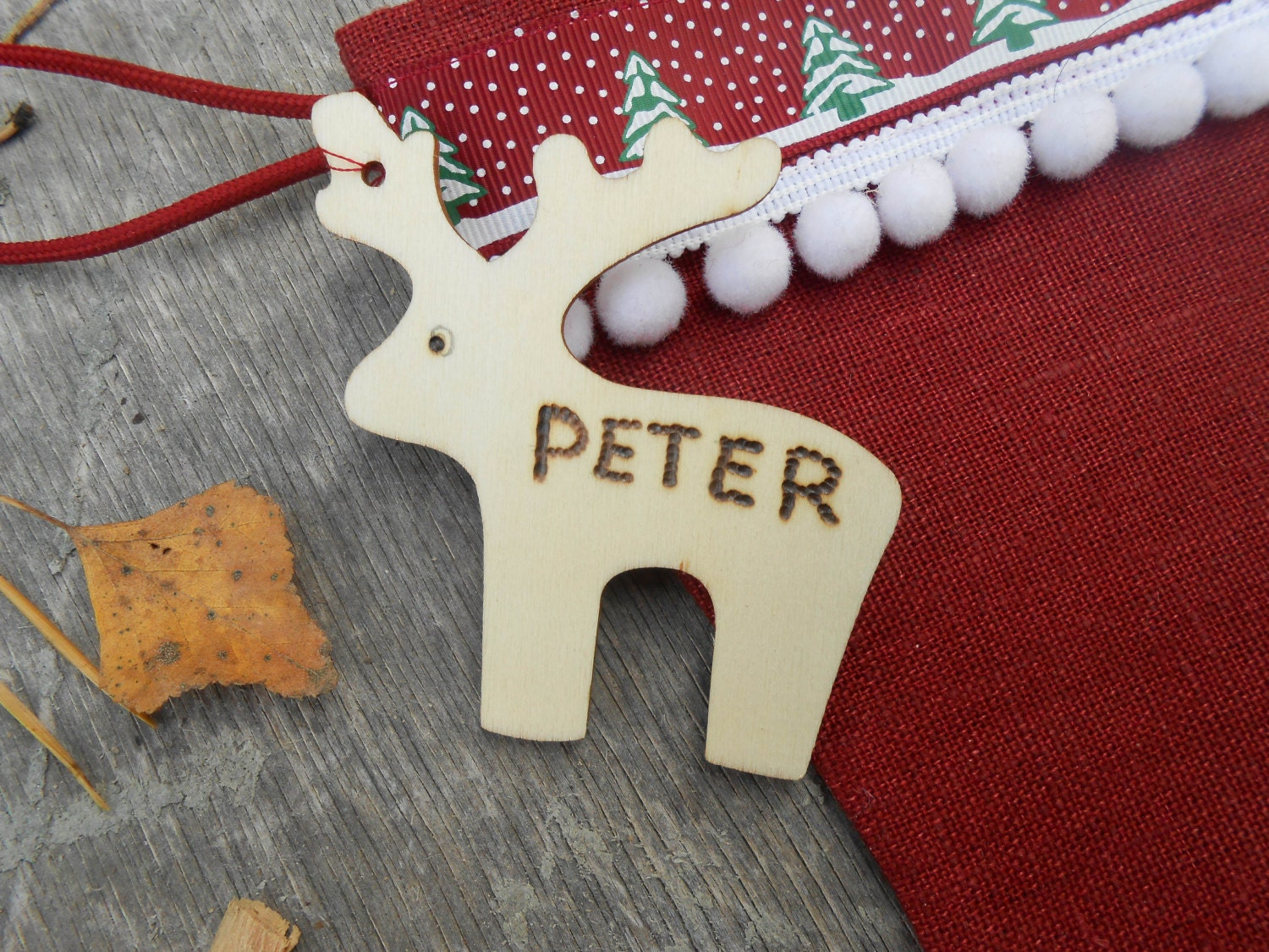 Personalized Gift Tag Personalized Name Tag Christmas Tag
