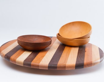 Wood Lazy Susan An Old Favorite Made New