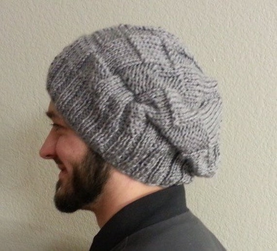 Slouchy Knit Hat/Beanie Loose fit sizes from by ...
