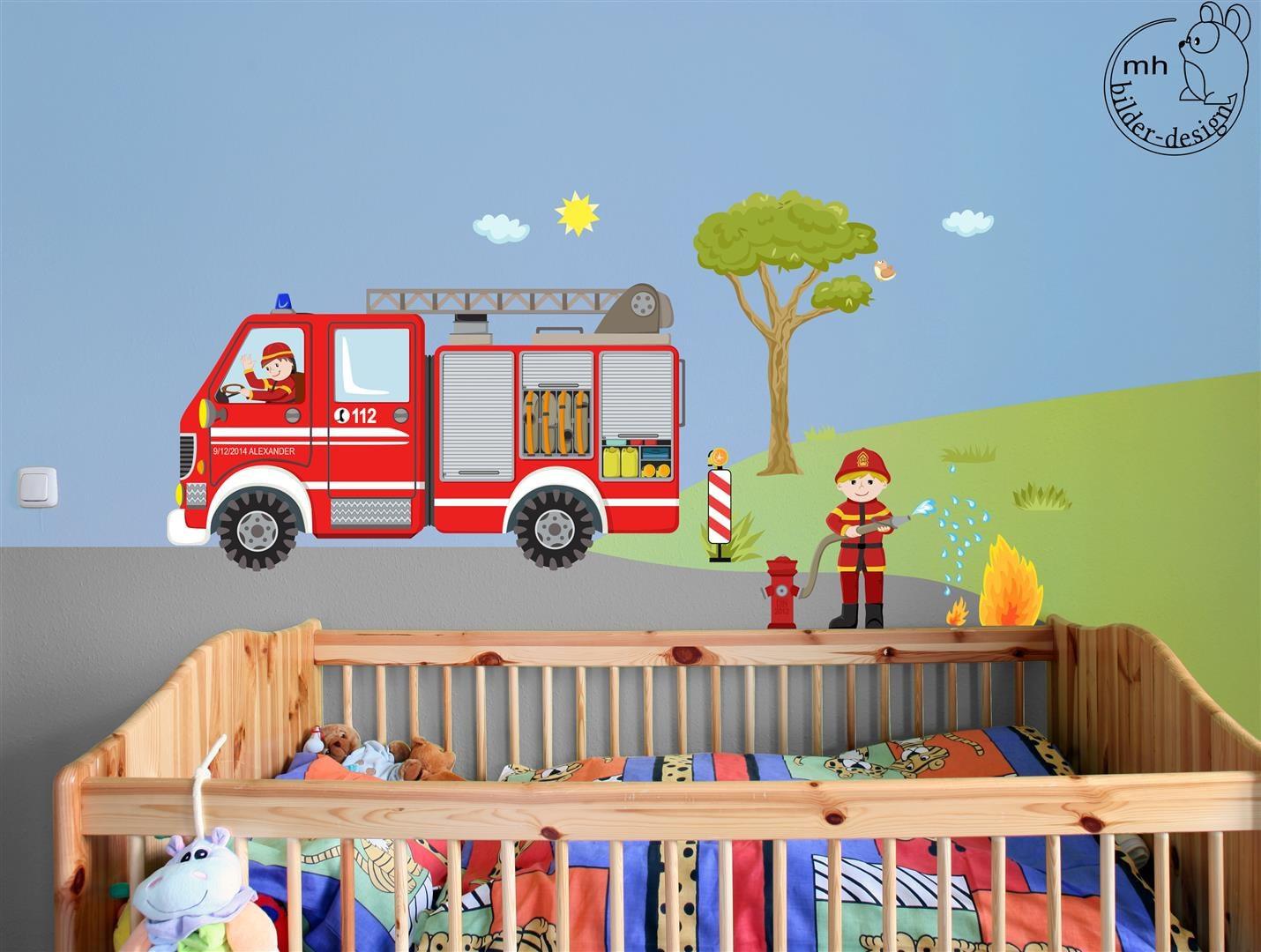 Wandtattoo Feuerwehr Set ~ Interieur- und Wohndesign-Ideen