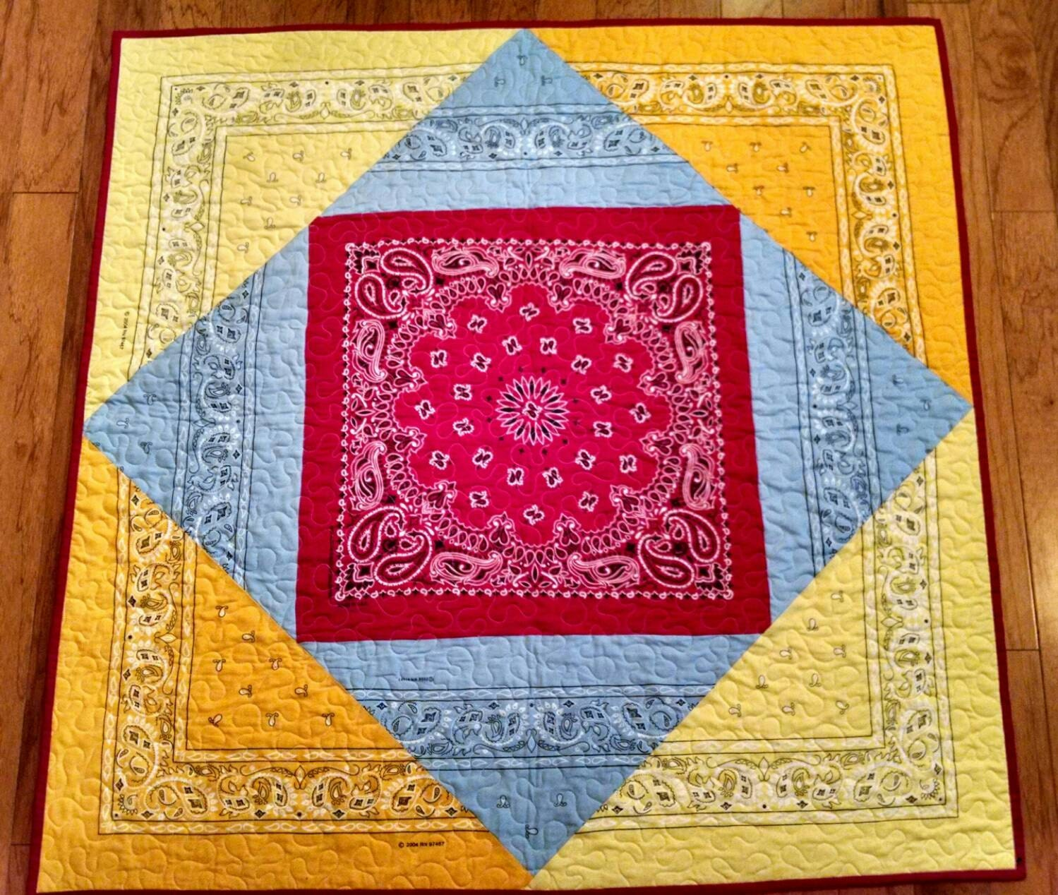 Bandana Quilt For Your Lil Buckaroo