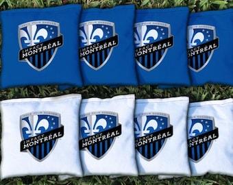 Montreal Impact Cornhole Bags - MLS Licensed