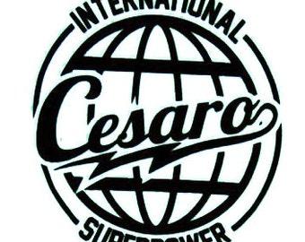 Superpower Cesaro Decal