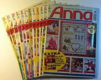 Anna, Creative Needlework and Crafts, January through December 2001