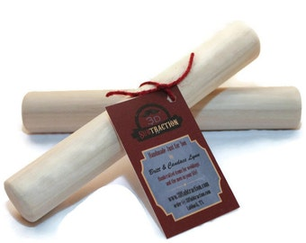 Handmade Wood Bolillo. Set of 2! READY TO SHIP Tortilla Rolling Pin, Rodillo! Also great for eggrolls, pastery & dumplings! Small.