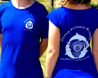 Dolphin Research Australia Womens Bamboo T-shirt