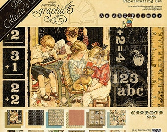 Graphic 45 ABC Primer Deluxe Collection