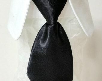 Dog Necktie. Male Dog Neck Tie  Necktie Dog Collar  Boy Dog Collar Dog Wedding Tuxedo Black Dog Necktie Red Neck Tie .