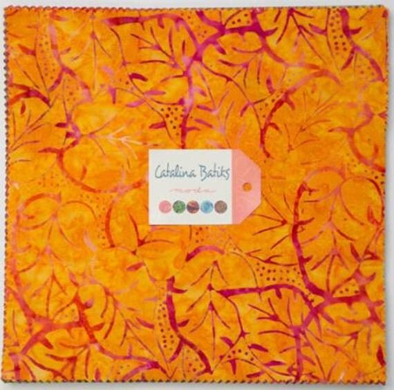 Purple Batik Layer Cake Fabric