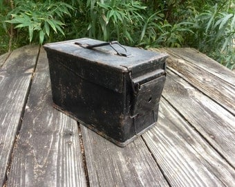 Black Ammo Box