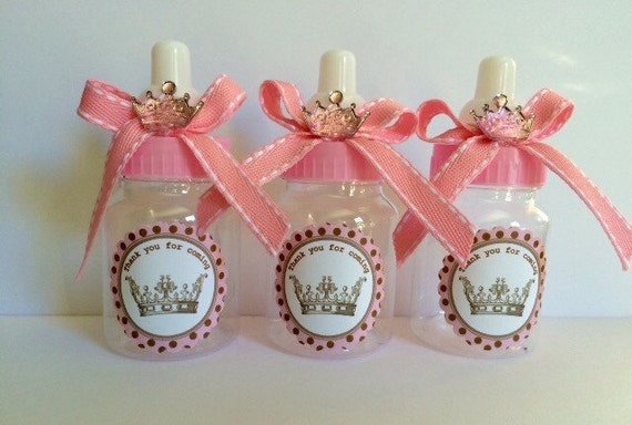 12 Little Princess Baby Shower Favors Princess Baby Shower