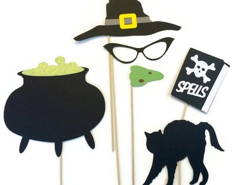 Halloween Photo Booth Props- Photo Booth Props