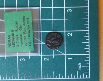 Roman Licinus The Second Bronze Coin