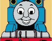 Thomas the Tank Engine Inspired Crochet Graph/Cross Stitch Graph Pattern