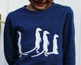 Meerkat Long Sleeve Top, Shirt