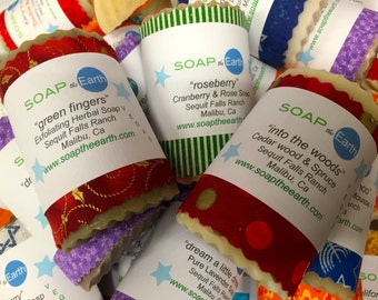 3 Handcrafted soaps for Twenty Dollars