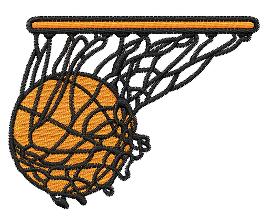 Basketball embroidery design from embroidstock on etsy studio