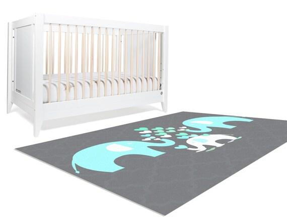 elephant rug elephant nursery rug elephant von hawkerpeddler. Black Bedroom Furniture Sets. Home Design Ideas
