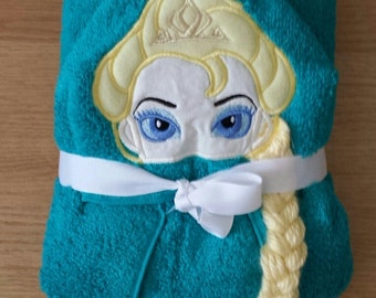 Ice Princess Hooded Towel