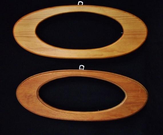 mid century amoeba picture frame set oval wooden frames mid century modern frames