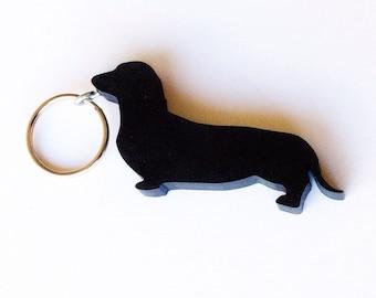 Dachshund Keychain - Dog Keychains - Gifts for Dog Lovers - Dachshund