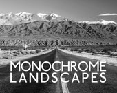 Monochrome Landscapes Lightroom Presets - 10 B&W Presets - Black and White Lightroom Presets for 4, 5, 6 and CC