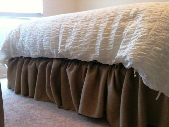 Brown Queen Bed Skirt 18