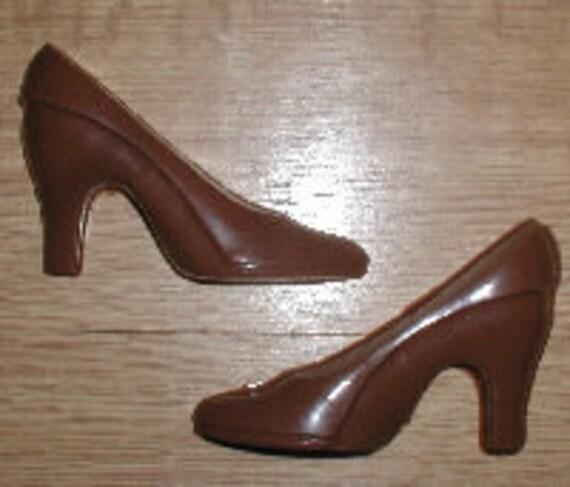 Chocolate Heel Mold 7 5 Inch Long High Heel Shoe