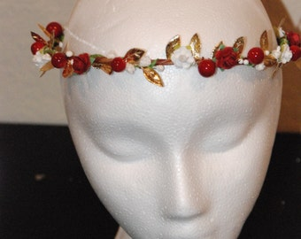 The Berry Flower Halo