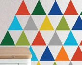 Primary Triangles - WALL DECAL