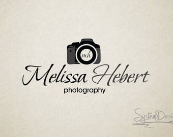 Custom logo design...Premade logo....watermark design...Logos...camera logo