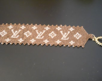 Bracelets patterns peyote technique