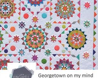 Georgetown on My Mind Quilt Pattern - Jen Kingwell - Jen Kingwell Designs - JKD 5071