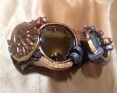 Triforce Legend of Zelda Steampunk Gold Lens Goggles