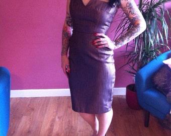 Pinup style wiggle dress size 8