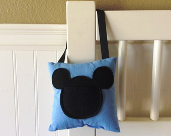 Mickey Mouse Tooth Fairy pillow
