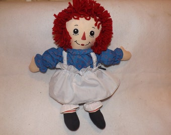 Sale- Vintage 18 Inch Tall Raggedy Ann Applause Stuffed Animal Plush Toy Doll LOVE Shameless Advertising Direct Checkout DJ639
