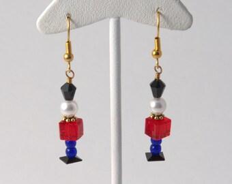 Swarovski Toy Soldier Earrings