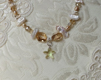 Rich Golden Shadow Necklace