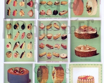 Sweet Stuff Number 2 Digital Download Collage Sheet