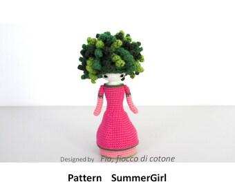 Amigurumi Mini Doll Pattern : Pattern Seasons miniature doll amigurumi crochet by ...