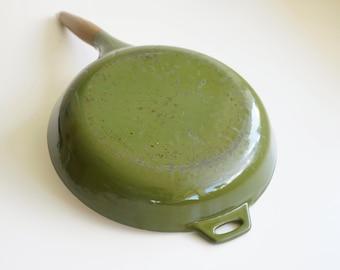 Green Copco Frying Pan by Michael Lax