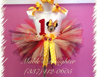 Classic Minnie Mouse Tutu set
