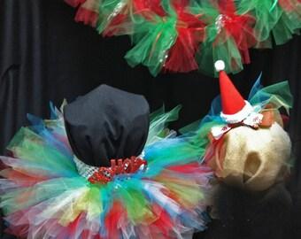 Santa Tutu Dress Outfit
