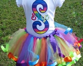 Candyland Tutu Set (includes shirt & tutu)
