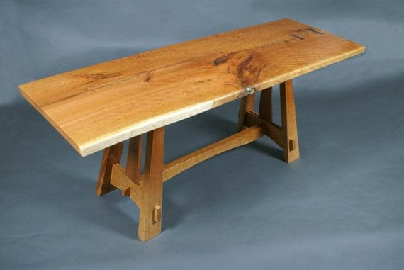 Cherry Craftsman-style Breakfast Table