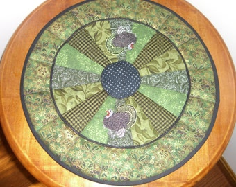 Quilted Turkey centerpiece