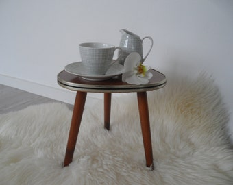 Plant stand,plant stool ,plant table ,coffee table,stool,flower stool,Vintage stool,little stool,tri pod table,little table,flower table